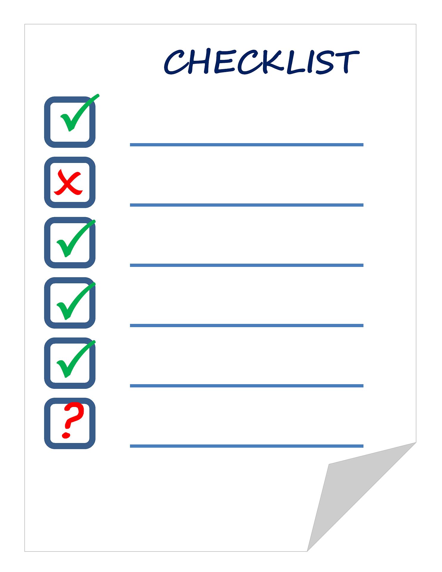 Ihr Weg Zur Eigentumswohnung Checkliste